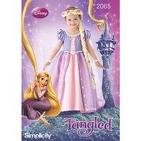 Simplicity Girls Disney Tangled Costume Sewing Pattern, 2065
