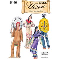 Simplicity Costume Dressmaking Leaflet, 5446, A