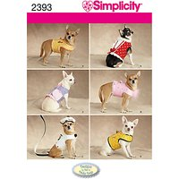 Simplicity Craft Sewing Pattern, 2393