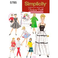 Simplicity Craft Sewing Pattern, 5785