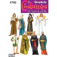 Simplicity Costume Dressmaking Leaflet, 4795, A