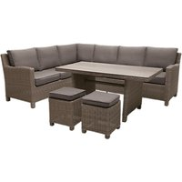 KETTLER Palma 8 Seater Garden Corner Lounging Table and Chairs Set