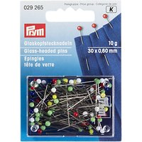 Prym Glass Headed Pins, 10g