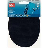 Prym Imitation Suede Elbow Patches, Pack of 2, Navy
