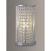 John Lewis Emilia Crystal Table Lamp, Clear