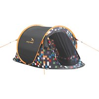 Easy Camp Antic Pixel Tent, Yellow/Black