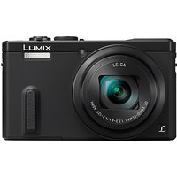 Panasonic Lumix DMC-TZ60 Digital Camera, HD 1080p, 18.1MP, 30x Optical Zoom, Wi-Fi, NFC, GPS & GLONASS, EVF, 3 Screen