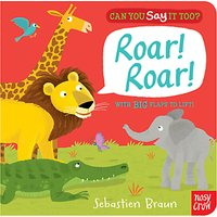 Can You Say It Too? Roar Roar! Book