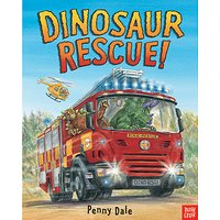 Dinosaur Rescue Book