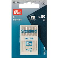 Prym Universal Sewing Machine Needles, Size 80, Pack of 5