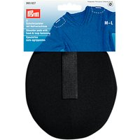 Prym Raglan Shoulder Pads, Pack of 2, M/L, Black