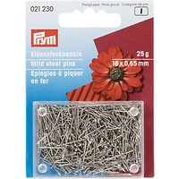 Prym Mild Steel Pins, 16mm, 25g
