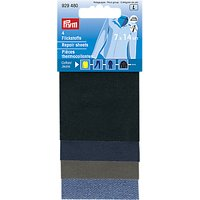 Prym Assorted Iron-on Patches, Pack of 4, Assorted