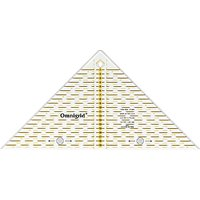 Prym Omnigrid Metric Quick Triangle Ruler, .25cm