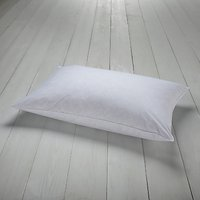 John Lewis and Partners Natural Goose Feather and Down Standard Pillow, Medium