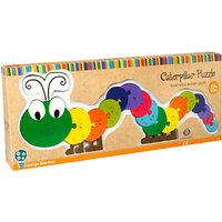 Orange Tree Caterpillar Alphabet Puzzle