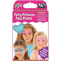 Galt Fairy Princess Face Paints, Pack of 6