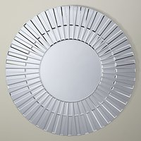shop for John Lewis & Partners Morello Glass Mirror, Dia.80cm, Clear at Shopo