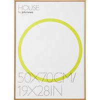 House by John Lewis Aluminium Photo Frame, 50 x 70cm
