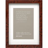 John Lewis Walnut Veneer Effect Photo Frame, 4 x 6 (10 x 15cm)