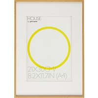 House by John Lewis Aluminium Photo Frame, A3 with A4 Mount