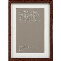 John Lewis Walnut Veneer Photo Frame, 6 x 9.5 (15 x 24cm)