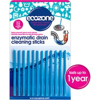 Ecozone Drain Sticks, Pack of 12