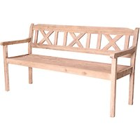 LG Outdoor Hanoi 3-Seat Crossback Bench, FSC-certified (Acacia)