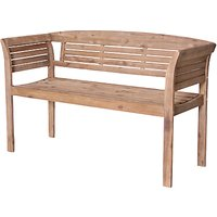 LG Outdoor Hanoi 2-Seater Bistro Bench, FSC-certified (Acacia)