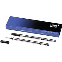 Montblanc Rollerball Refills, Medium, Pack of 2, Pacific Blue