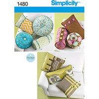 Simplicity Home Patty Martin Cushion Sewing Pattern, 1480