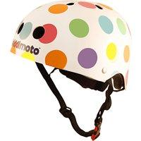 Kiddimoto Pastel Dotty Helmet, Small