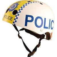 Image of Kiddimoto Police Scooter & Bike Helmet, Small