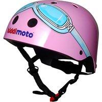 Kiddimoto Pink Goggles Helmet, Small