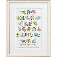 Letterfest Kids Alphabet Framed Print, 56.8 x 44.8cm