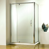 John Lewis 90 x 90cm Shower Enclosure with Pivot Front Door