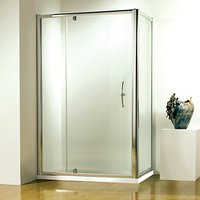 John Lewis 120 x 80cm Shower Enclosure with Pivot Front Door