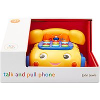 John Lewis Talk And Pull Phone Toy