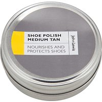 John Lewis Shoe Polish, Medium Tan