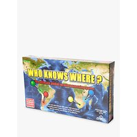 Who Knows Where? - Global Location Guessing Board Game