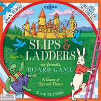 Eeboo Slips & Ladders Board Game