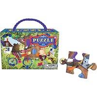 Eeboo Bear On Bike Jigsaw Puzzle