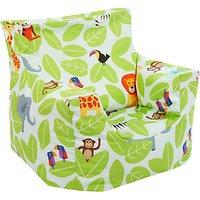 little home at John Lewis Animal Fun Jungle Bean Chair