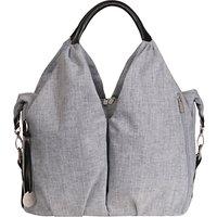 Laessig Neckline Changing Bag, Grey Melange