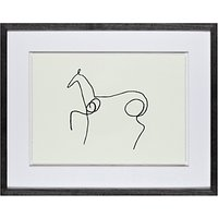 Pablo Picasso - Le Cheval, Framed Print, 40 x 50cm