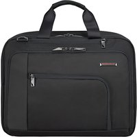 Briggs & Riley Verb Adapt 15.6 Laptop Briefcase, Black
