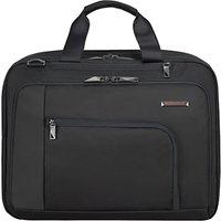Briggs & Riley Verb Adapt 15.6 Laptop Briefcase, Black