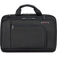 Briggs & Riley Verb Contact 15 Laptop Briefcase, Black