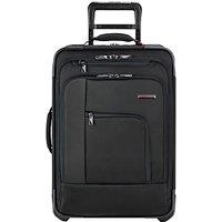 Briggs & Riley Verb Pilot 2-Wheel 54.6cm Cabin Suitcase, Black