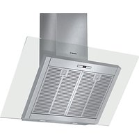 Bosch DWK098E51B Chimney Cooker Hood, Brushed Steel